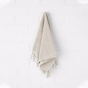 Paros Hand Towel | Natural | by Aura Home