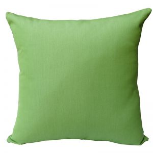 Parrot Green   Sunbrella Fade and Water Resistant Outdoor Cushion   Outdoor Interiors