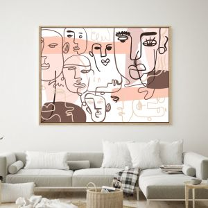 Party People | Shadow Framed Wall Art