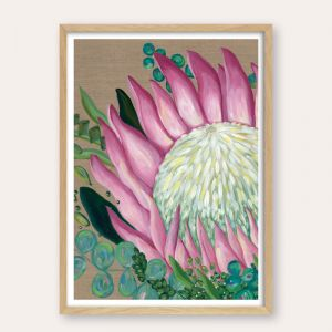Pastel Protea | Unframed Fine Art Print