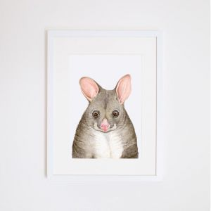 Pat the Possum | Giclee Art Print | by For Me By Dee