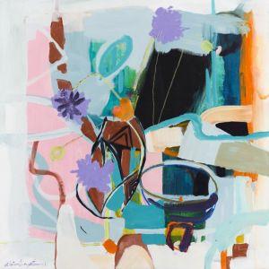 Patterned Vase | Limited Edition Print by Ali McNabney-Stevens