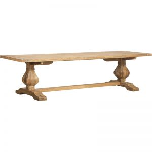 Paxton Reclaimed Teak Dining Table   300cm   Schots