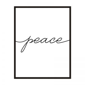 Peace   Framed Print   Artefocus