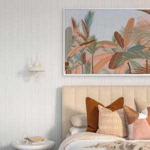 Peach Beach | Canvas Print