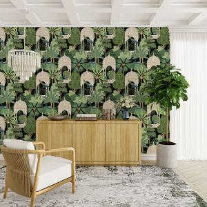 Peacocks at Play | Wallpaper