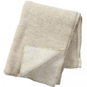 Peak Wool Blanket   Beige
