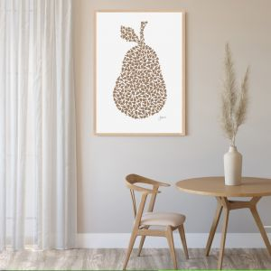 Pear Orchard in Bronzed Copper Fine Art Print | by Pick a Pear | Framed