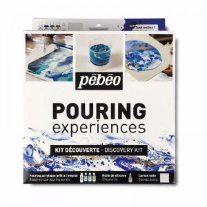 Pebeo Pouring Paint | Experiences Discovery Set 6pc