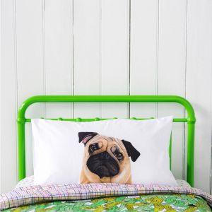 Pedro the Pug Pillowcase
