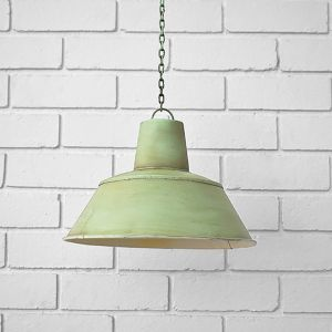 Pendant Light Shade Teal Green