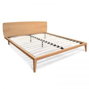 Penley Queen Sized Bed Frame | Natural Oak | Interior Secrets