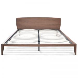 Penley Queen Sized Bed Frame | Walnut | Interior Secrets