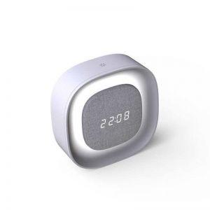 Penny LED Alarm Clock Lamp in Grey | Beacon Lighting
