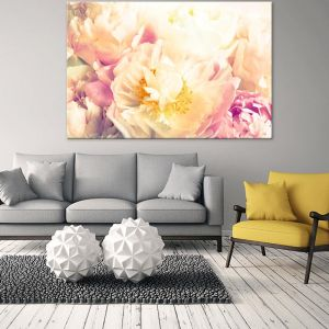Peony Yellow | Canvas Artwork