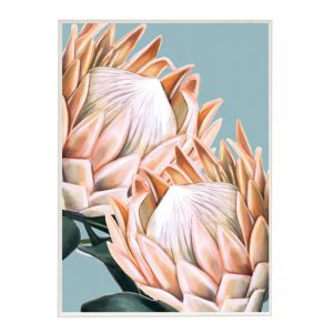 Perfect Proteas | Boutique Gloss White Frame | Front View