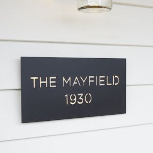Personalised House Name Plates | by Lump Sculpture Studio