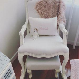 Personalised Lumbar Cushion | White