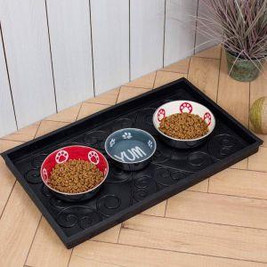 Pet Food Tray | Boot Tray | All Purpose Tray | Waterproof | Non-Slip