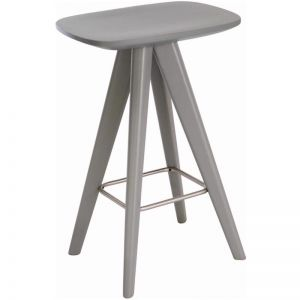 Petite Counter Stool in Grey | Modern Furniture