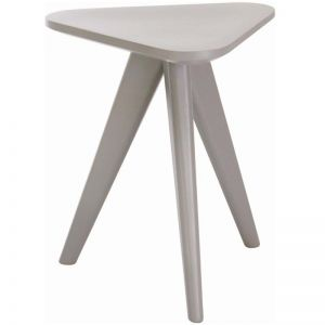 Petite Stool | 47cm | Grey | Modern Furniture