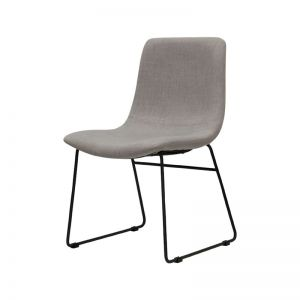 Petra Dining Chair Light Grey |  by SATARA