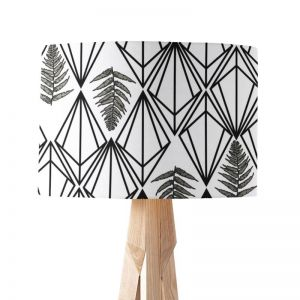 Phoebe Mono | Paper Lampshade | Various Sizes | Amba Florette