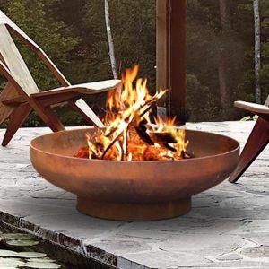 Phoenix 80cm Rust Fire Pit