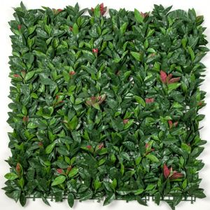 Photinia (Red Robin) Hedge Leaf Screens / Panels UV Resistant 1m x 1m