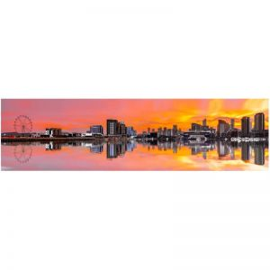 Photography | Unframed Print | Melbourne Docklands | by Nick Psomiadis