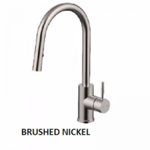 Pin Pull Out Sink Mixer | Brushed Nickel
