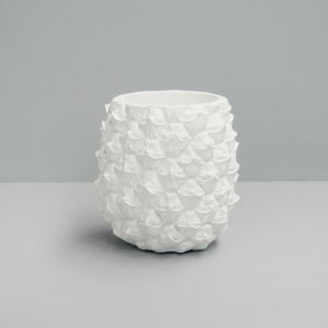 Pineapple Planter | White