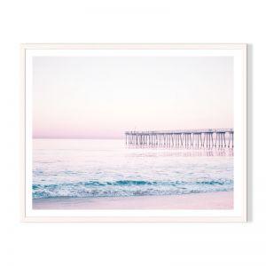 Pink Evening | Framed Print by Artefocus