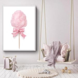 Pink Fairy Floss | Photographic Art Print by Sharyn Coffee
