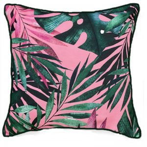 Pink Jungle   Outdoor & Indoor Cushion Cover
