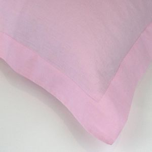 Pink Linen Pillowcases | Various Sizes