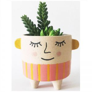 Pink Lolita Planter/ Pre Order Available October