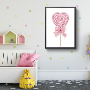 Pink Lollypop Love | Photographic Art Print by Sharyn Coffee