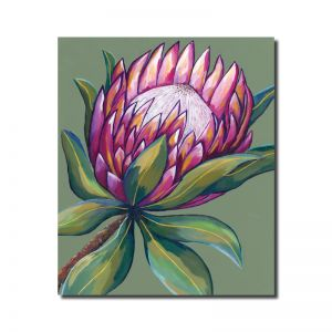 Pink Protea | Original Artwork