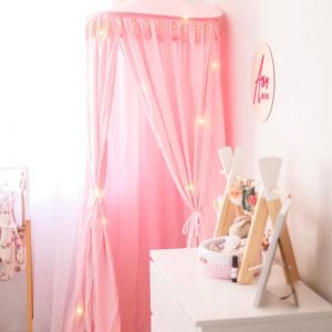 Pink Round Canopy | Hope & Jade