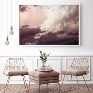 Pink Skies | Photographic Art Print | by Donna Delaney