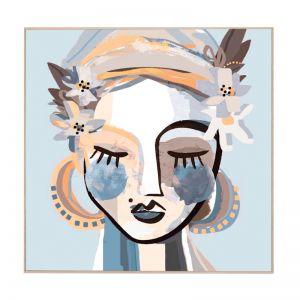 Piper | Framed Canvas Print