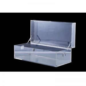 Pirato Lucite Acrylic Storage Trunk Table | Customisable