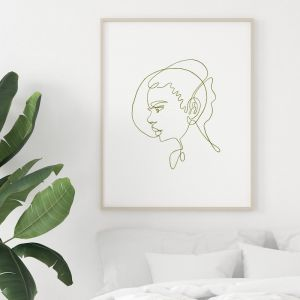 Pixie | Portrait Art Print | Framed or Unframed