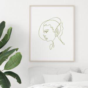 Pixie | Portrait Art Print | Framed or Unframed