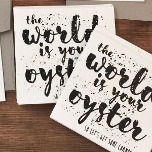 Plantable Cards Handmade on Recycled Paper | The World Is...
