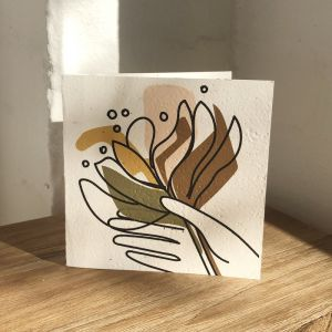 Plantable Cards on Handmade Recycled Paper l Banksia Bunch