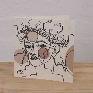 Plantable Cards on Handmade Recycled Paper l Lelani