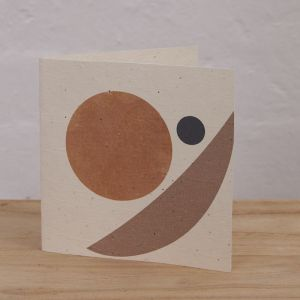 Plantable Cards on Handmade Recycled Paper l Sunrise