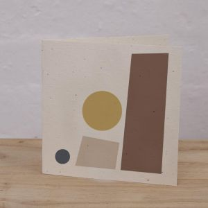 Plantable Cards on Handmade Recycled Paper l Towers, Moon